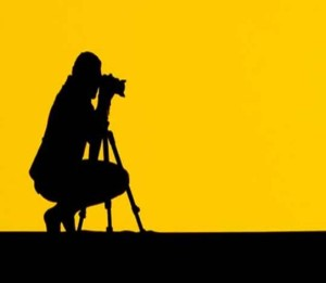 photographer yellow